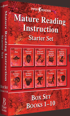MRI: Mature Reading Instruction Starter Set Box Set Books 1-10