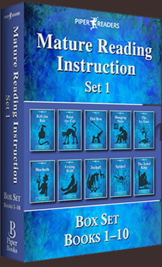 MRI: Mature Reading Instruction Box Set 1 Books 1-10