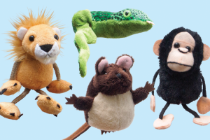 SPECIAL OFFER  Finger Puppets with BRI Books