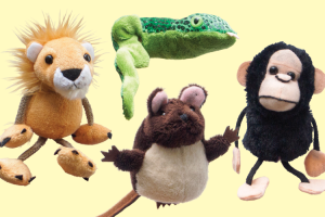Engaging Children in storytelling with the Sam, Mat, Mit, Sis Finger Puppets