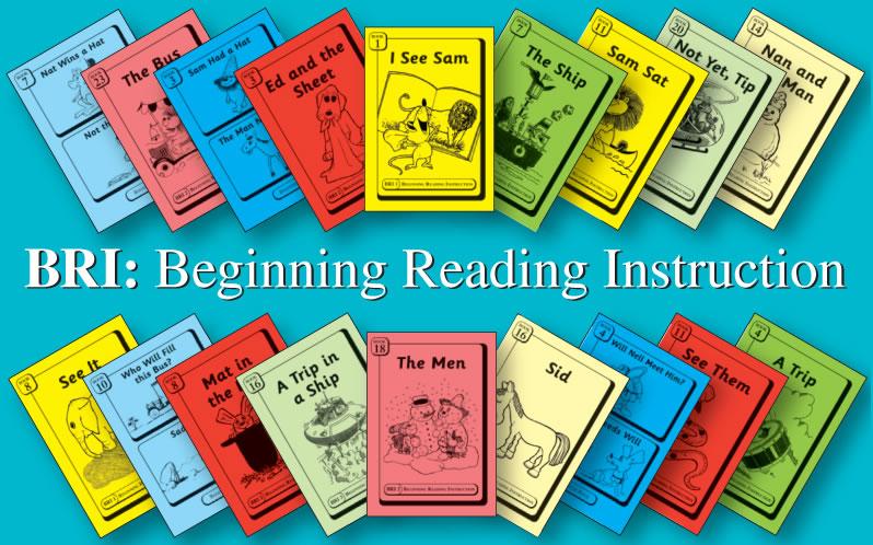 BRI Books using decodables