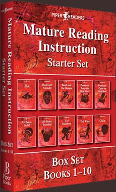 MRI: Mature Reading Instruction Starter Set Box Set Books 1-10