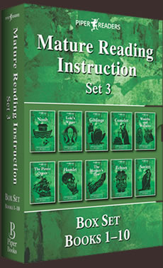 MRI: Mature Reading Instruction Box Set 3 Books 1-10