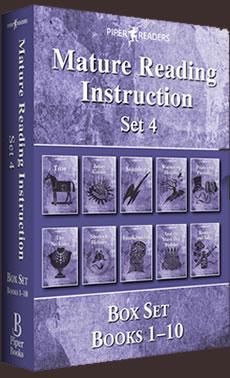 MRI: Mature Reading Instruction Box Set 4 Books 1-10
