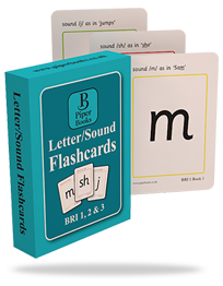 Letter/Sound Flashcards BRI 1, 2, & 3