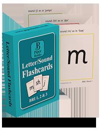 Letter/Sound Flashcards BRI 1, 2, & 3