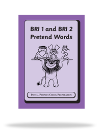 BRI 1 and BRI 2 Pretend Words