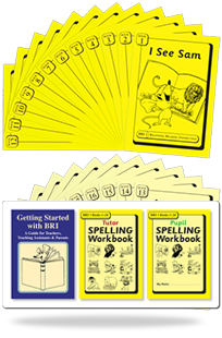 BRI Set 1 Plus: Getting Started with BRI, Tutor & Pupil SPELLING Workbooks