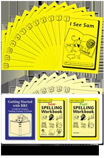 BRI Set 1 Plus: Getting Started with BRI, Tutor & Pupil SPELLING Workbooks