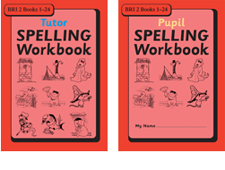 BRI Set 2Tutor and Pupil SPELLING Workbooks