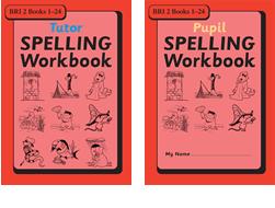 BRI Set 2Tutor and Pupil SPELLING Workbooks