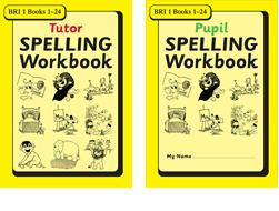 BRI Set 1Tutor and Pupil SPELLING Workbooks