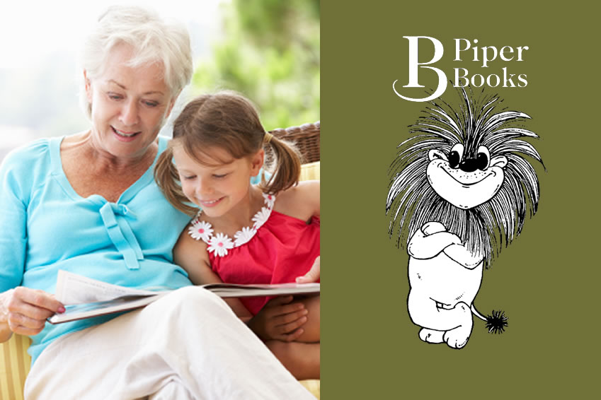 Teaching your grandchild to read.