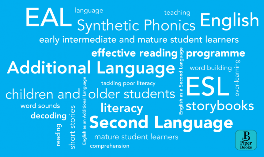Teaching English as an additional language EAL with Piper Books