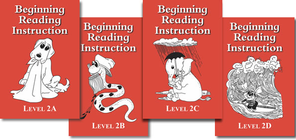 BRI Level 2 Beginning Reading Instruction, Books