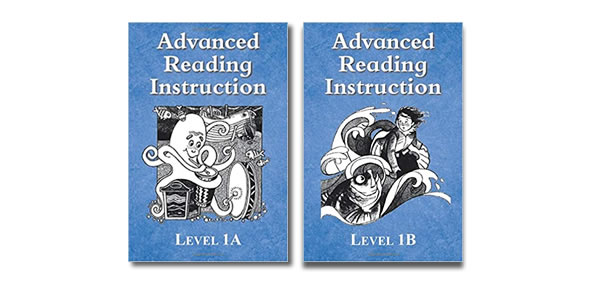 Advanced reading help books Level 1