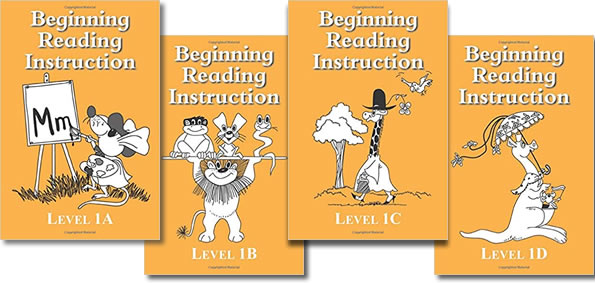 BRI Set 1 Beginning Reading Instruction Books