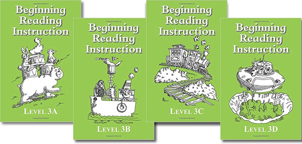 BRI Set 3 Beginning Reading Instruction Books 1-20