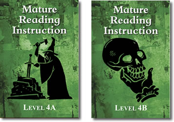 MRI Levels 4A 4B books